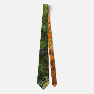 Going green tie
