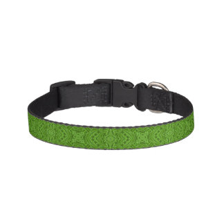 Going Green  Tiled Dog Collars