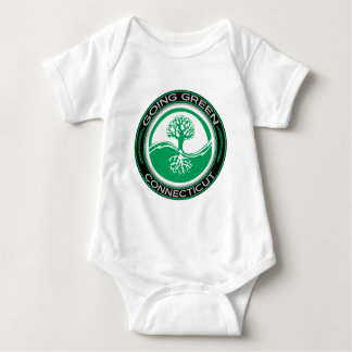 Going Green Tree Connecticut Baby Bodysuit