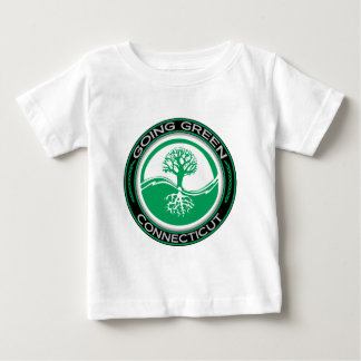 Going Green Tree Connecticut Baby T-Shirt
