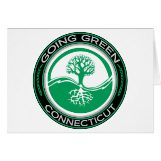 Going Green Tree Connecticut Card