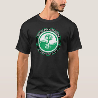 Going Green Tree Connecticut T-Shirt