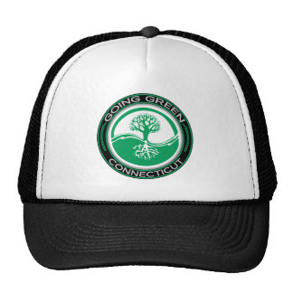 Going Green Tree Connecticut Trucker Hat