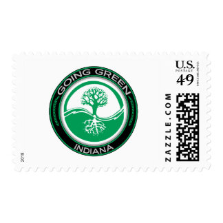 Going Green Tree Indiana Postage