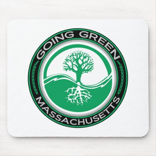 Going Green Tree Massachusetts Mouse Pad