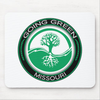 Going Green Tree Missouri Mouse Pad
