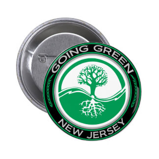 Going Green Tree New Jersey Button