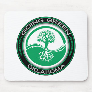 Going Green Tree Oklahoma Mouse Pad