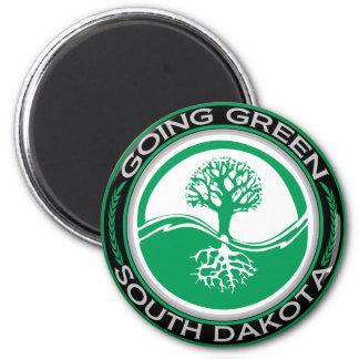 Going Green Tree South Dakota Magnet