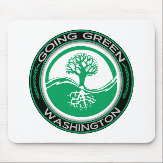 Going Green Tree Washington Mouse Pad