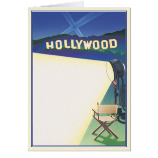 Going Hollywood © Card