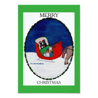 GOING HOME FOR CHRISTMAS CARD
