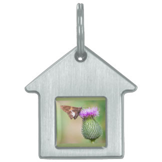 going horizontal on a vertical pet name tag