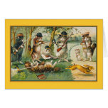 Going Hunting Greeting Card