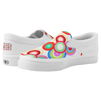 Going In Circles Printed Shoes
