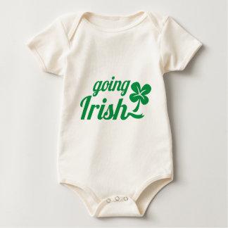 GOING IRISH St Patricks day design Baby Bodysuit