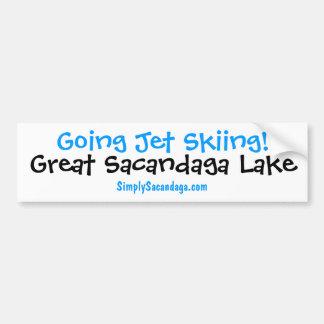Going Jet Skiing Sacandaga Bumper Sticker
