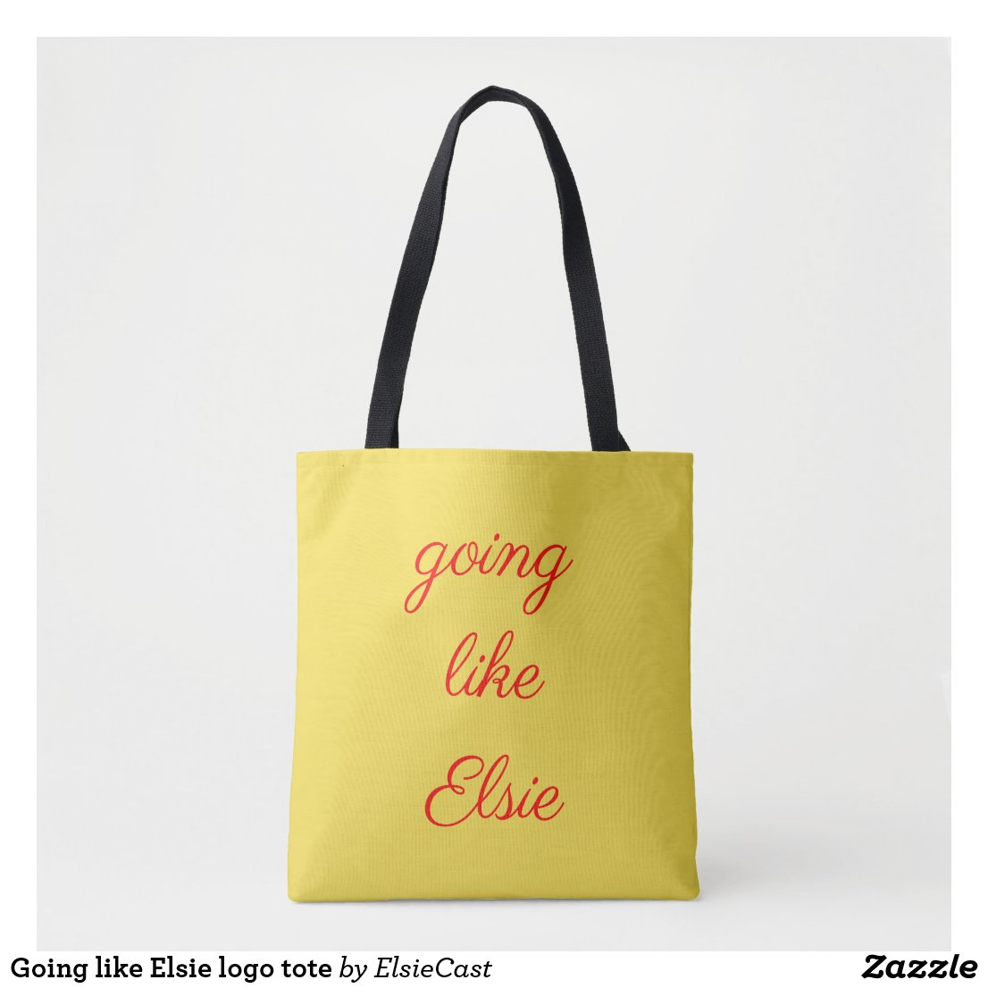 Going like Elsie logo tote