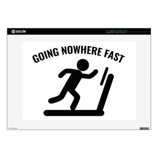 """Going Nowhere Fast Decal For 15"""" Laptop"""