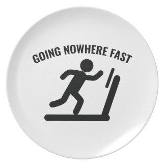 Going Nowhere Fast Dinner Plate