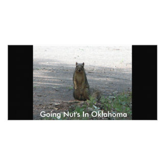 Going Nut's In Oklahoma Card