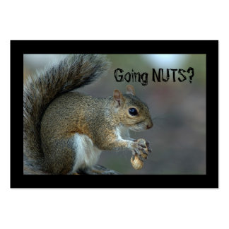 Going nuts large business cards (Pack of 100)