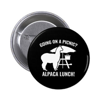 Going On A Picnic? Pinback Button
