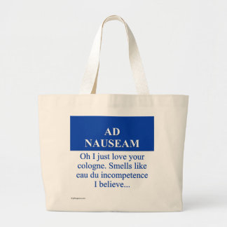 Going on Ad Nauseam (3) Canvas Bags
