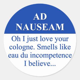 Going on Ad Nauseam (3) Sticker