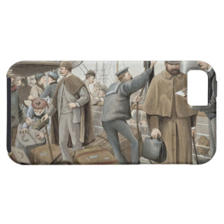 Going on Board at Tilbury, from 'P & O Pencillings iPhone SE/5/5s Case
