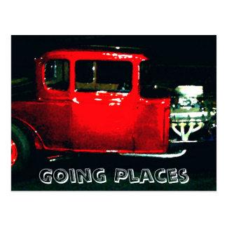 """Going Places"" - CricketDiane Designer Stuff Postcard"