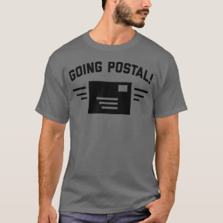 Going Postal | Men's Dark Grey T-Shirt