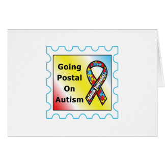 Going Postal on Autism, the sequel Card