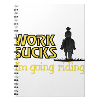 Going Riding Notebook