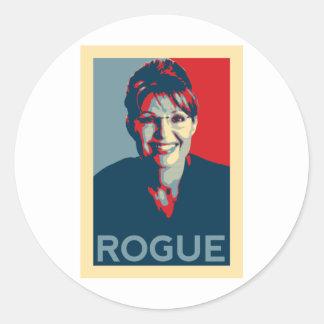 Going Rogue Classic Round Sticker