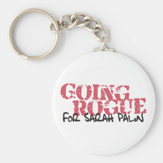 Going Rogue For Sarah Palin Keychain