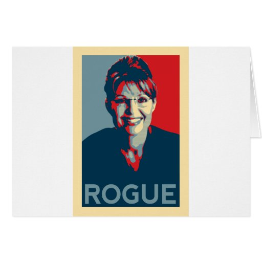 Going Rogue Greeting Card