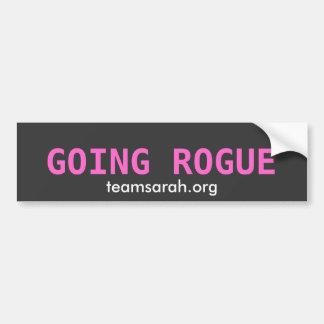 GOING ROGUE  TEAMSARAH.ORG BUMPER STICKER