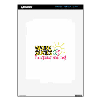 Going Sailing Decals For iPad 3