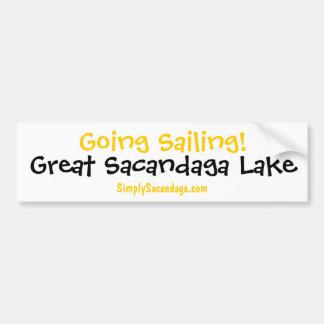 Going Sailing Sacandaga Bumper Sticker