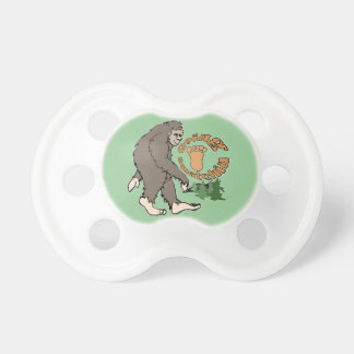 Going Squatchin Baby Pacifier