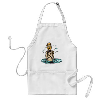 Going Swimming Adult Apron