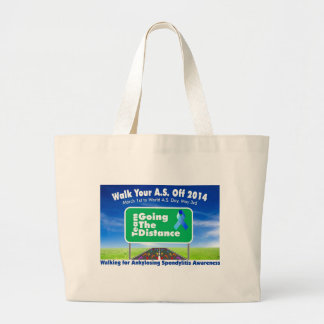 Going The Distance Large Tote Bag