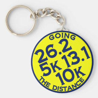 Going the Distances Keychain