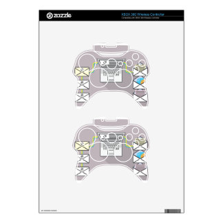 Going through emails on laptop xbox 360 controller decal