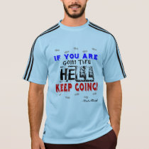 Going Through Hell - Adidas SS Running T-Shirt