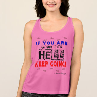 Going Through Hell - All Sport  Running Tank Top