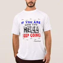 Going Through Hell - Champion SS Running T-Shirt