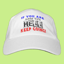 Going Through Hell - Running Headsweats Hat