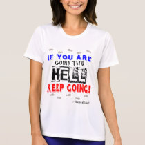 Going Through Hell Sport-Tek SS Running T-Shirt